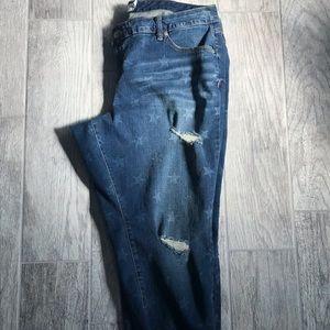 Torrid Star Boyfriend Jeans